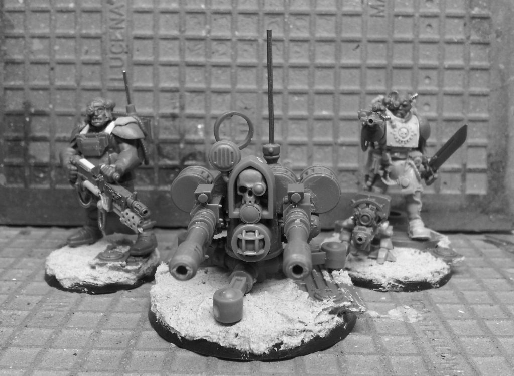 Tarantula Sentry Gun B&W
