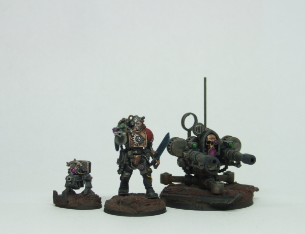 Gun Dog, Skitarii and Tarantula