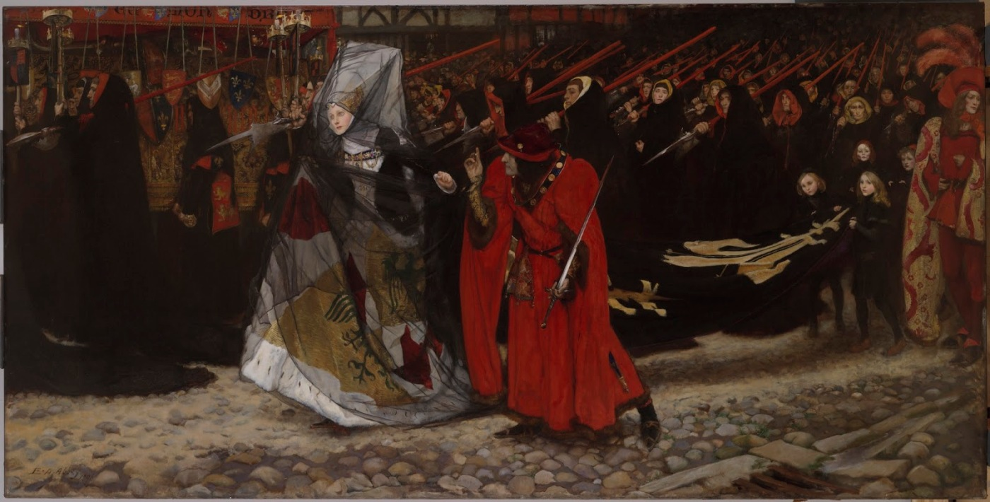 Richard, Duke of Gloucester, and the Lady Anne, 1896 - Edwin Austin Abbey