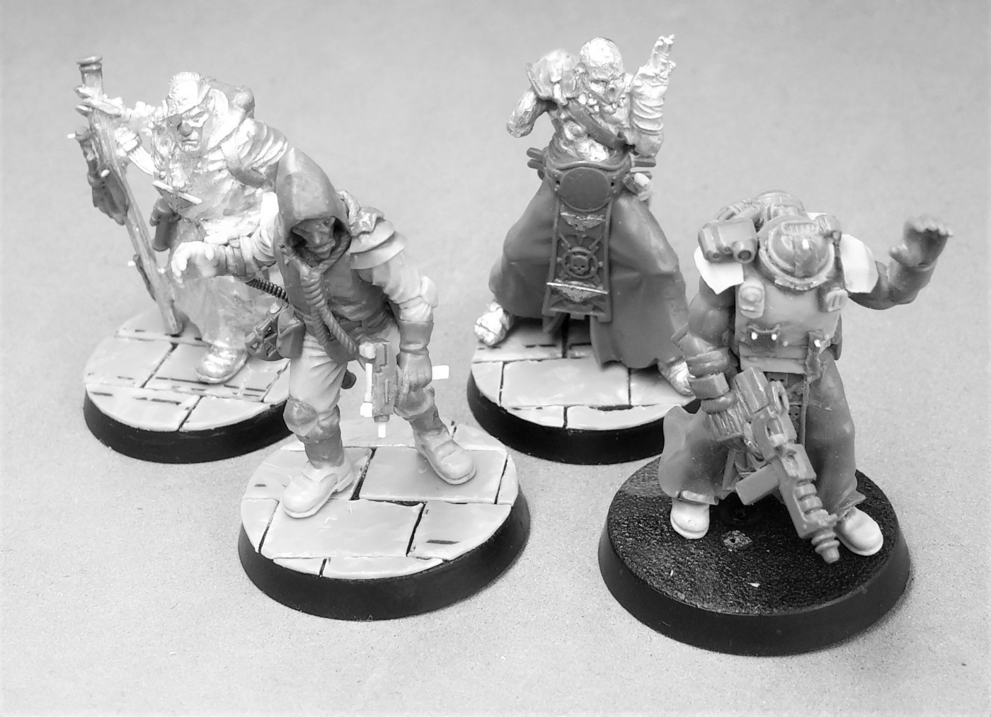 Unpainted group