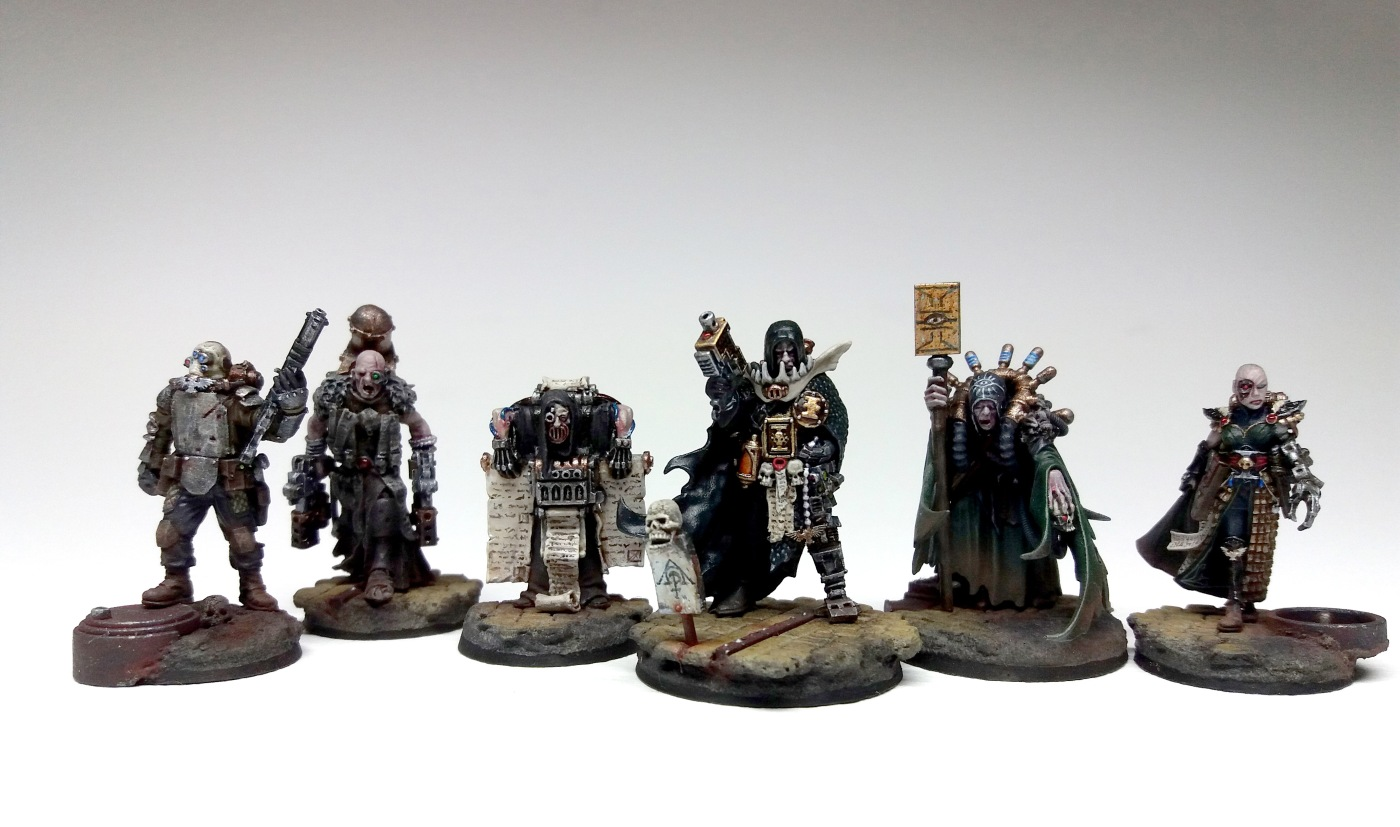 Inquisitor Klain Inson of the Ordo Scriptorum - Archaeogian Retinue-1