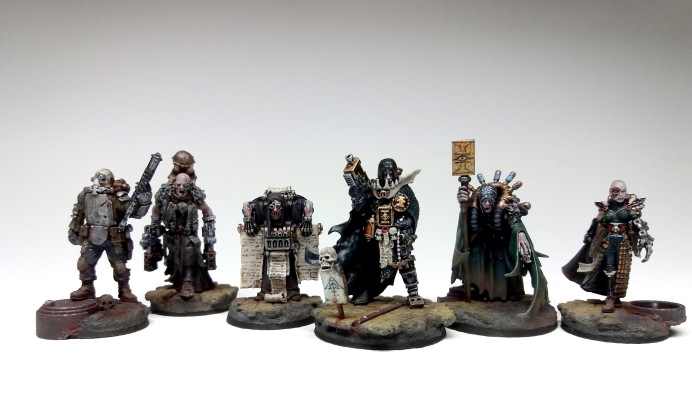 Inquisitor Klain Inson of the Ordo Scriptorum - Archaeogian Retinue-1
