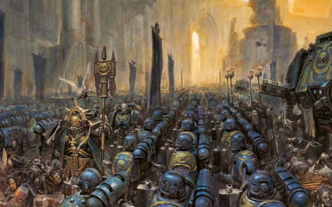 The Space Marine is dead! Long live the Space Marine! – IRON