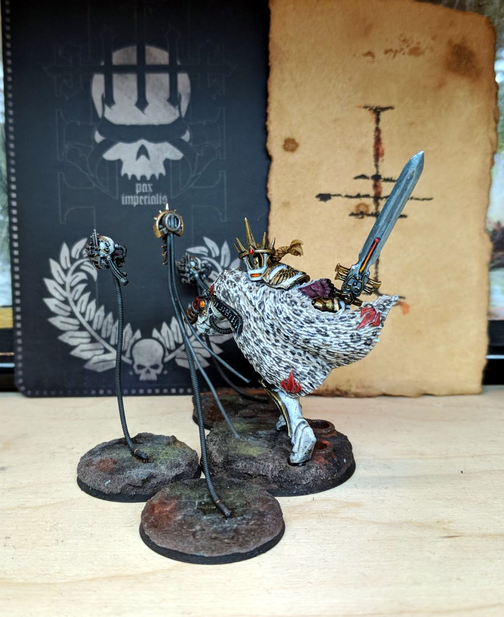Inquisitorix Hestora Agarl, Ordo Malleus C