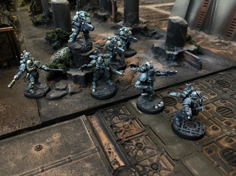 The Alpha Legionaires closing in on the elusive Tau