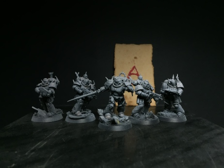 ...built up around the stunning Primaris Marines with a few changes here and there!