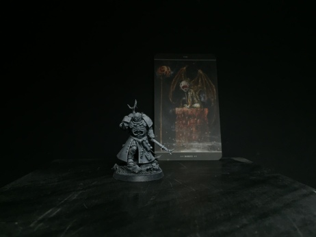 An Astartes Sorcerer - the first out of many.