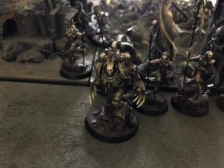 Uruz the Hunter joining Thorn Maidens to war.