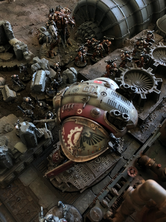 ...and together they take out one of the Imperial Knights wreaking havoc in the holloways!