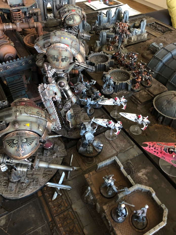 ...strike deep and fast against the Vlka Fenryka and the Imperial Knights!